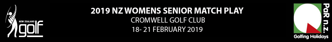 2019 NZ Womens Senior Matchplay Championship